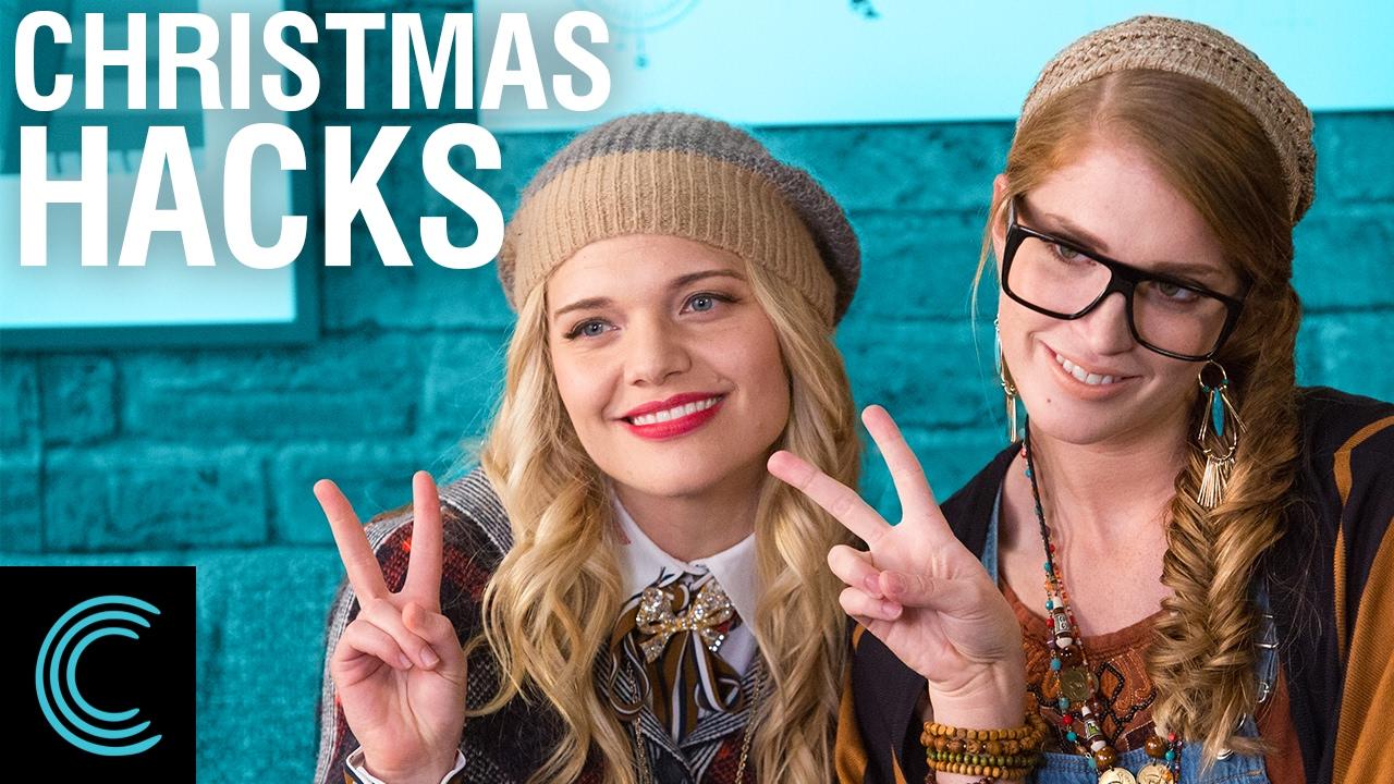 Studio C Christmas.The Most Organic Vlog Christmas Hacks