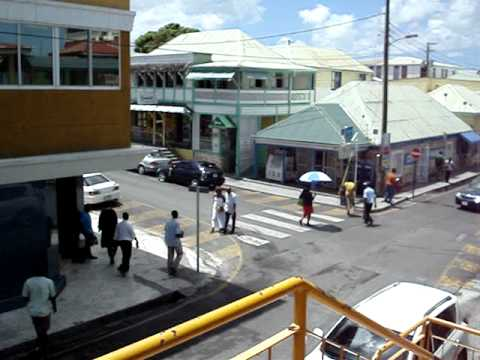 Downtown St. Johns, Antigua