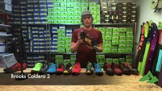 2018 Trail Running Shoe Selection