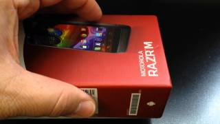 MOTOROLA ELECTRIFY M XT905 Unboxing Video - CELL PHONE in Stock at www.welectronics.com