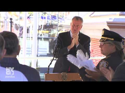 Mayor de Blasio Delivers Remarks at Street Co-Naming Ceremony Honoring Detective Steven McDonald