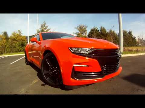 The New 2019 Chevrolet Camaro 2SS in HD-Orange Crush