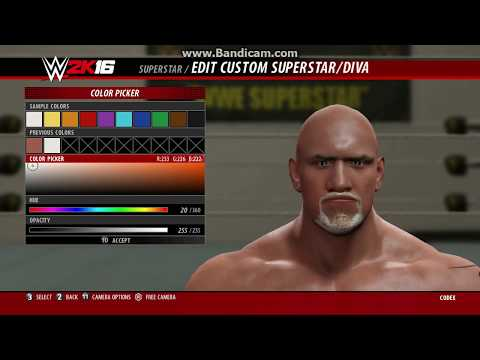 How to Create GOLDBERG in WWE 2k16 PC WITH MOVE-SET & ENTRANCE (Project GOLDBERG) CAW