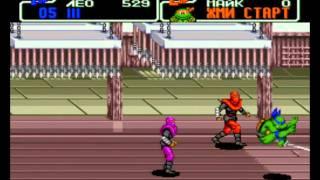 Teenage Mutant Ninja Turtles: The Hyperstone Heist (RUS) SEGA Прохождение / Walkthrough