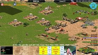 C2T4 - AoE 44 Random BiBiClub vs GameTv ngày 19-1-2018
