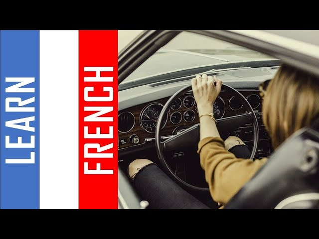 Learn French while you drive I  500 Verbs and Phrases