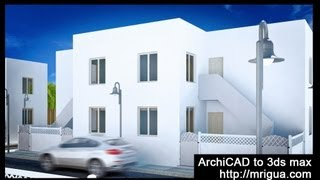 ArchiCAD to 3ds max