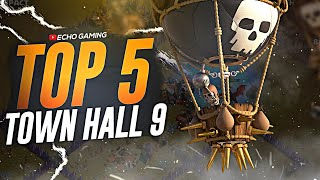 Top 5 BEST Town Hall 9 Attack Strategies in Clash of Clans