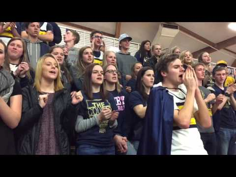 Canby High School Has Spirit At Quarterfinals