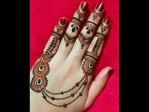 Mehndi design arabian/Mehndi designs arabic style images/Latest arabic  mehndi designs for back hands