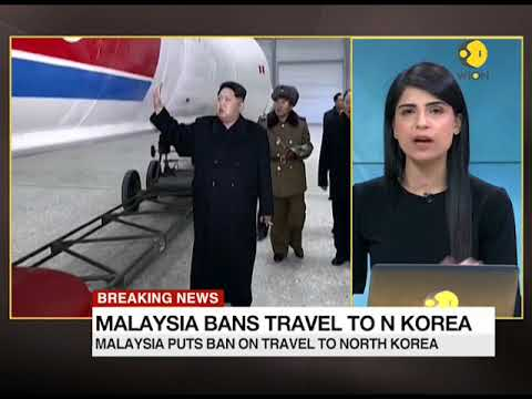 Malaysia puts ban on travel to North Korea