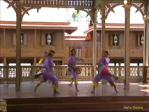 Olaf in Thailand / Episode 46: Bangkok - Wimanmek-Palast / Vimanmek Mansion (Palace) Thai Dance 4