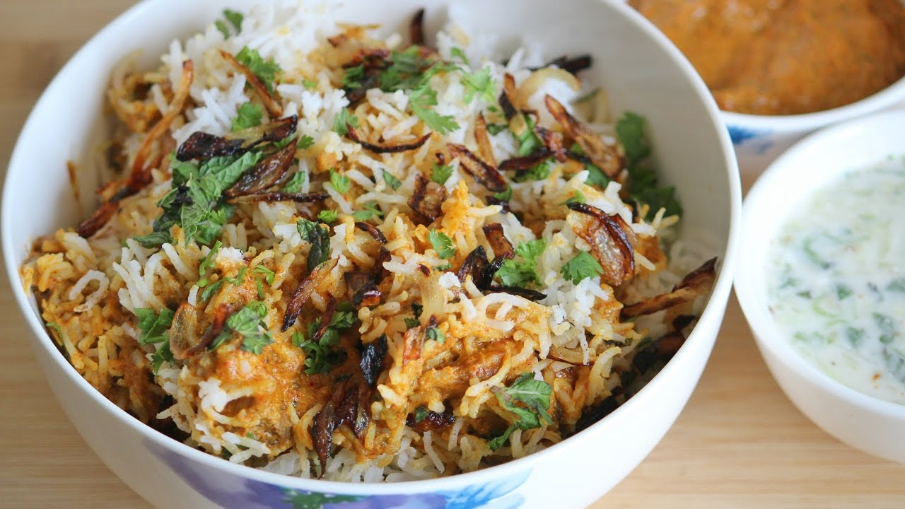 how to cook indian biryani