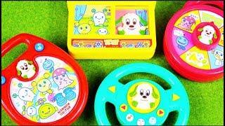 """It's a toy's clip dayo.おもちゃの動画 """"NHK教育番組のキャラクターの声や音楽がでるオモチャ""""だよ。 おもしろかったら、Good評価よろしくね(^_-)-..."""