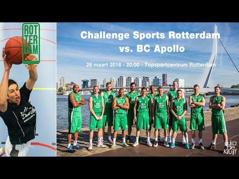 Challenge Sports Rotterdam - BC Apollo 26 maart 2016