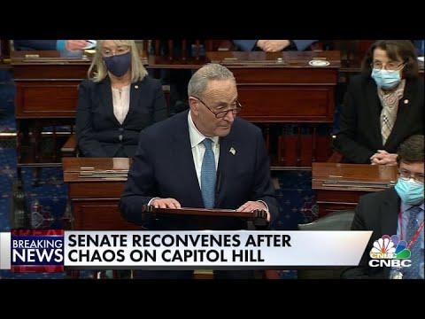 Download Sen. Chuck Schumer: President Donald Trump's lies incited this mob