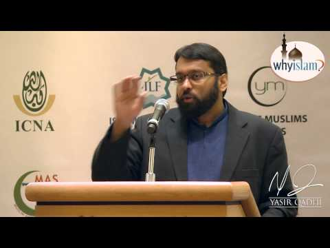 The Quran & Evolution: Thoughts from a Believing, Rational Muslim - Dr. Yasir Qadhi | 26th May 2013