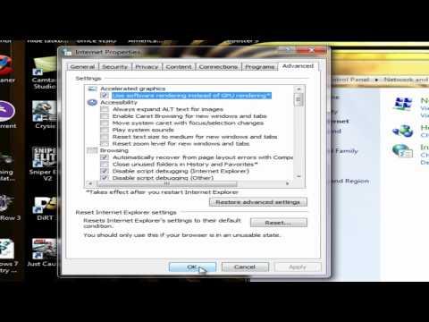 How to fix Internet Explorer has stopped working on Windows 7,Windows Vista tutorial (HD)
