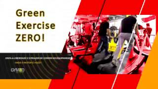 Esteira Sem Motor - Green Exercise Zero!