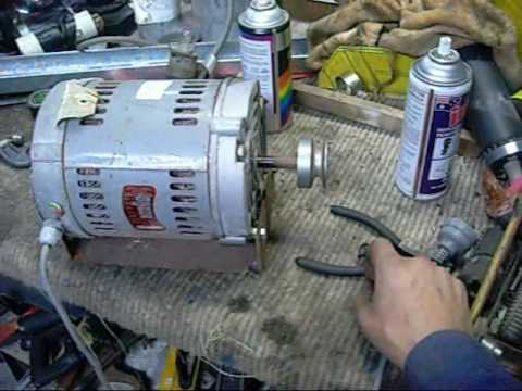 ac generator motor. Testing AC Motors And Working On Westinghouse Generator Ac Motor