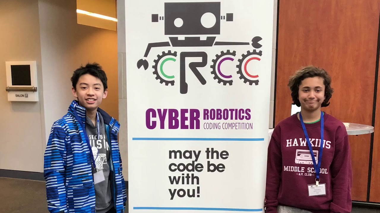 Cyber Robotics Coding Competition 2018 Greater Dc Area Finals Youtube