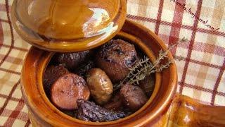 Блюда из топинамбура - тушеный топинамбур