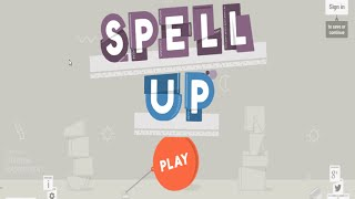Soletrando em Inglês com o Spell Up