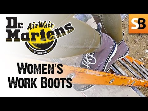 Safety for women: Dr Martens women's work boots review
