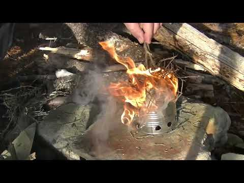 DIY - Simple Stick Stove for cooking