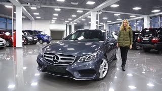 Подержанные автомобили  Mercedes   Benz E classe W212  Вып 188