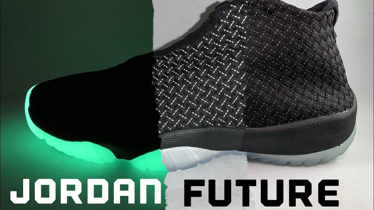 buy online a2d16 3e66a Jordan Future Glow in the Dark (BIGTIME SPIDER-MAN)