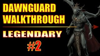 Skyrim Dawnguard DLC Walkthrough Gameplay - Illusion Assassin Build - Part 2, Awakening