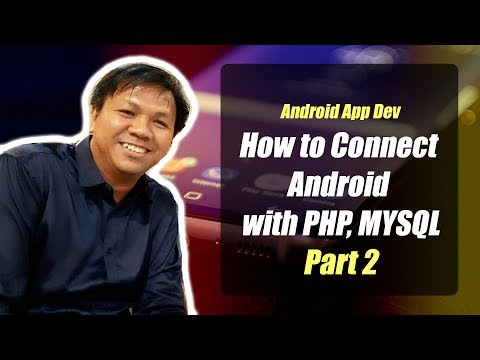 Quck Way to Connect Android with PHP, MySQL(Part 2) - Update MySQL Database