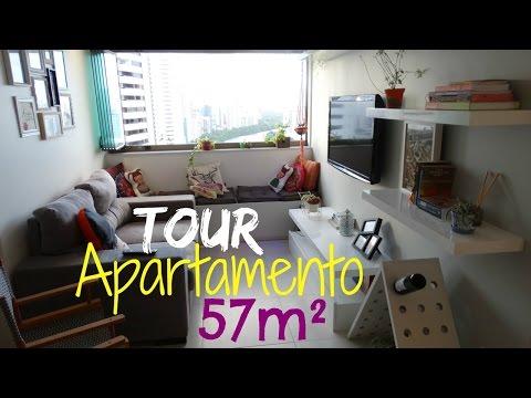 Tour - Apartamento pequeno e aconchegante - Recife-PE