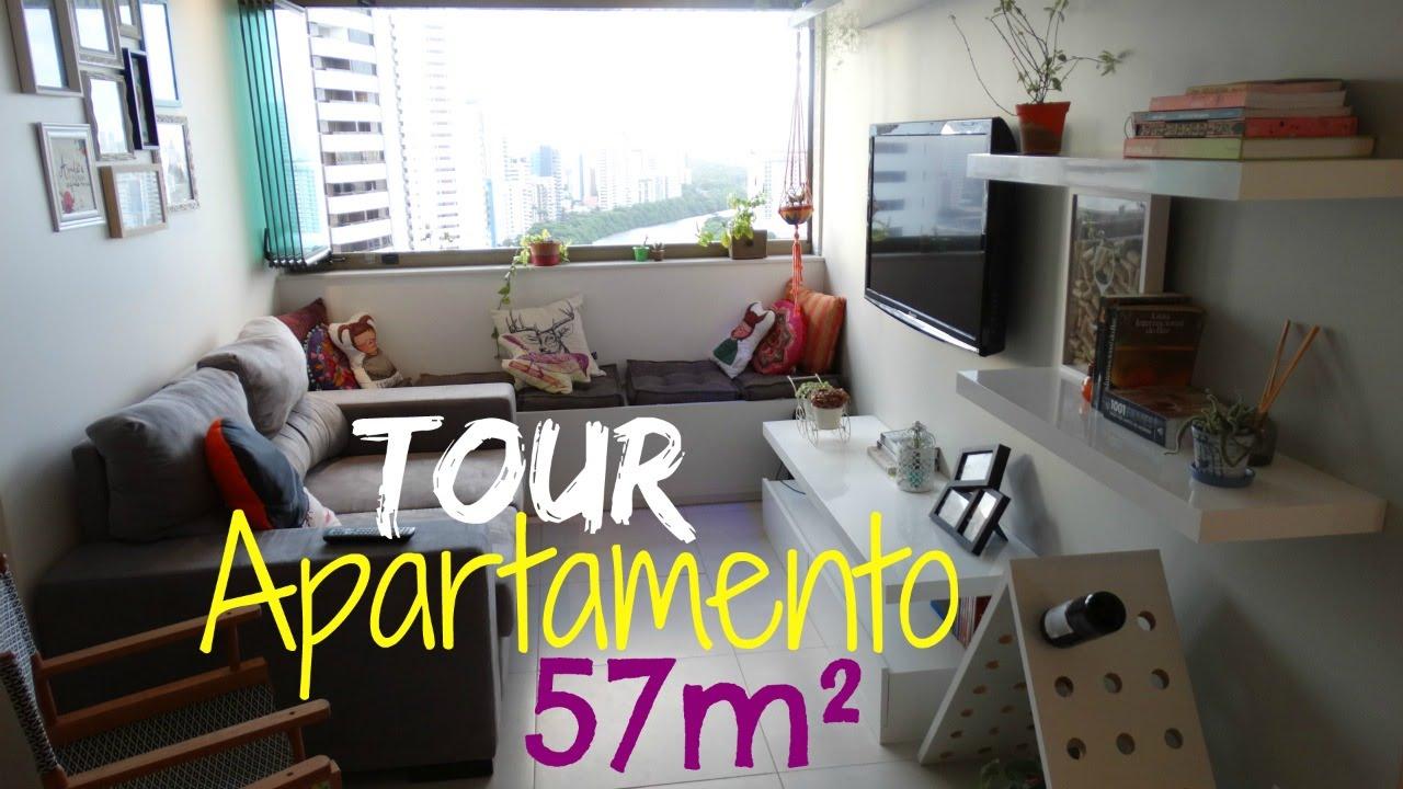 Tour apartamento pequeno e aconchegante recife pe for Apartamentos minimalistas pequenos