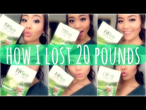 How I Lost 20 Pounds || My Fitness + Diet ft. FitTea