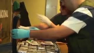 Смотреть видео Власти Аргентины нашли 400 кг кокаина в посольстве России онлайн