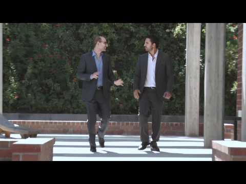 Mauricio Umansky and Billy Rose on the launch of T...