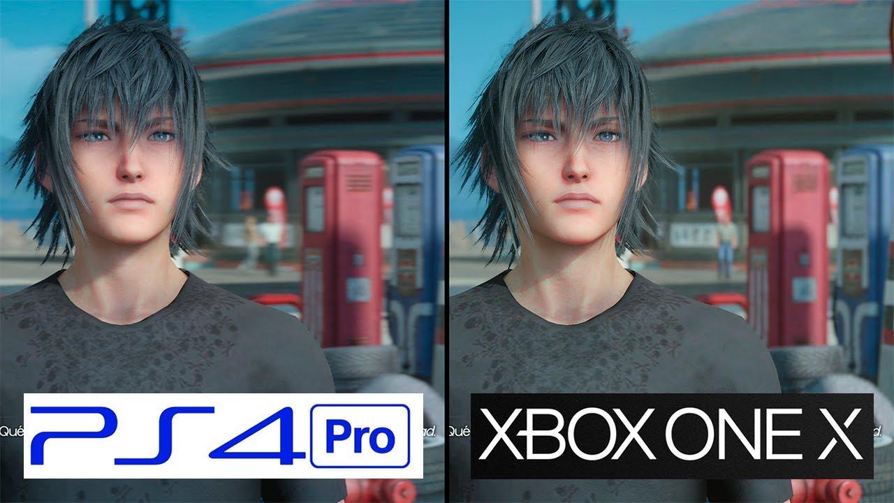 Final Fantasy XV | Xbox One X vs PS4 Pro | 4K Graphics ...Xbox One X Vs Ps4 Pro Graphics
