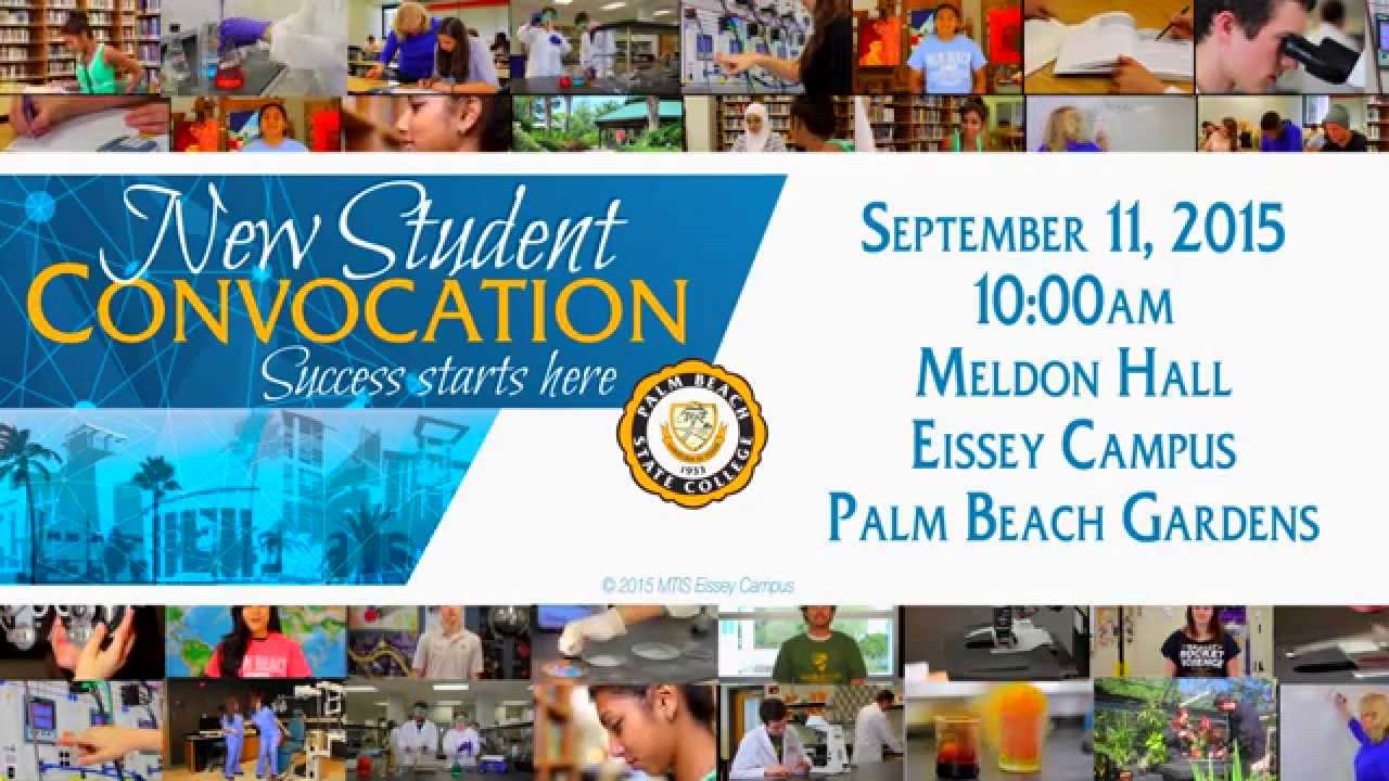 Palm Beach Gardens New Student Convocation 2015 Youtube