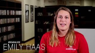 #DearAlice - Emily Haas