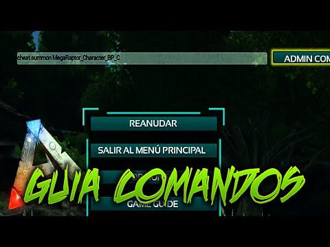 GUIA DE LOS MEJORES COMANDOS!! | Ark:Survival Evolved [XBOX ONE]