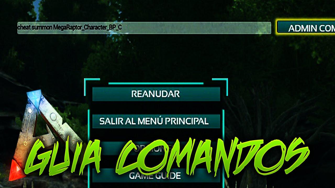 GUIA DE LOS MEJORES COMANDOS!! | Ark:Survival Evolved [XBOX ONE ...