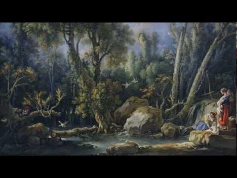 François Boucher, Laundresses in a Landscape, 1760