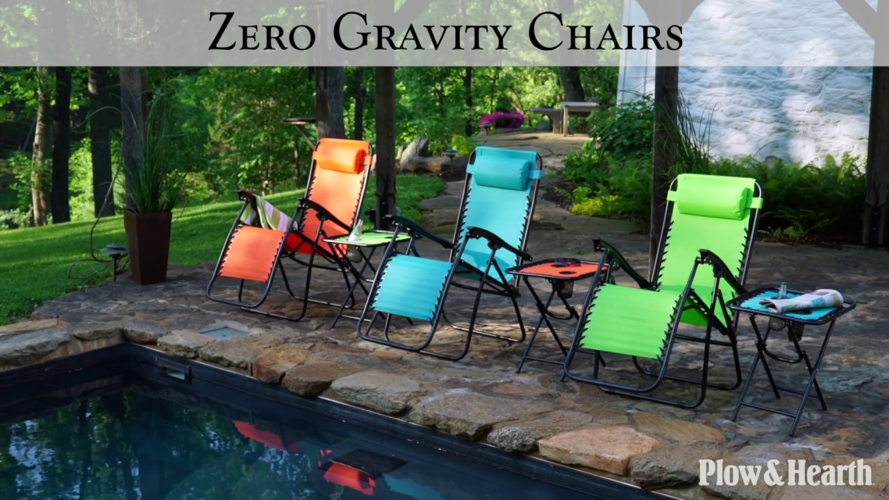 Zero Gravity Chairs In Bright Colors SKU# 37589   Plow U0026 Hearth Part 84