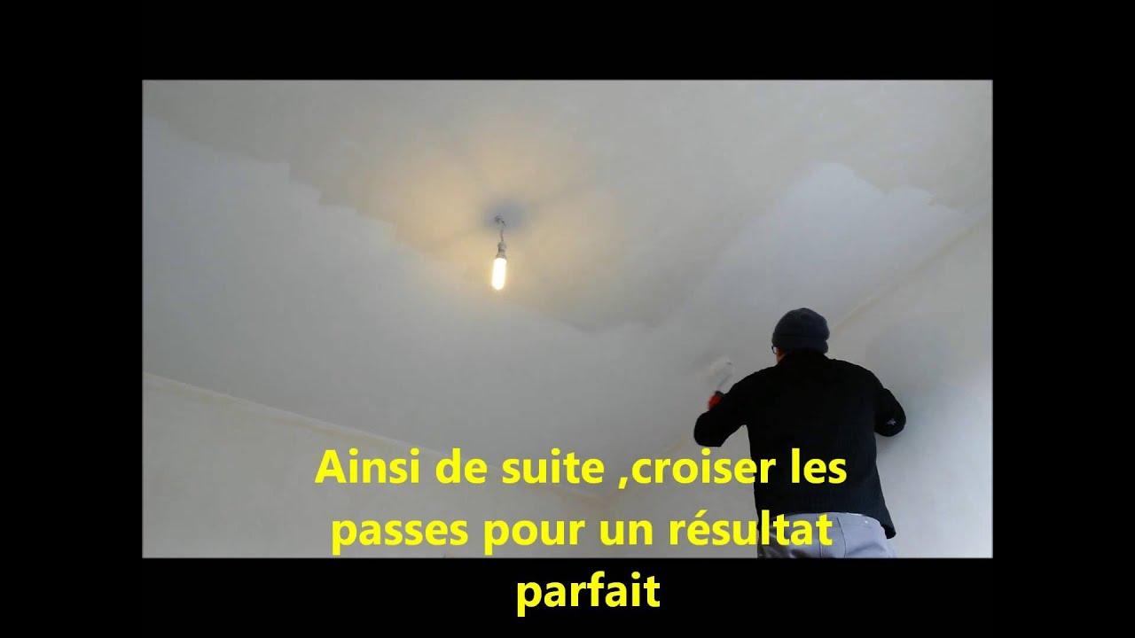 comment renover et peindre mur et plafond tuto complet - youtube
