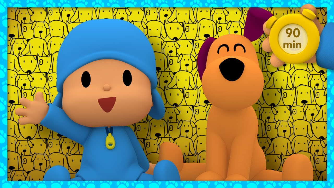 🐶 POCOYO AND NINA - My Pet, My Buddy [90 minutes] | ANIMATED CARTOON for Children | FULL episodes