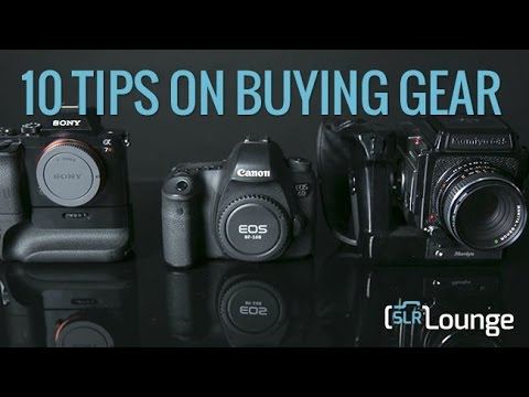 10 Tips On Buying Photography Gear | Photography 101