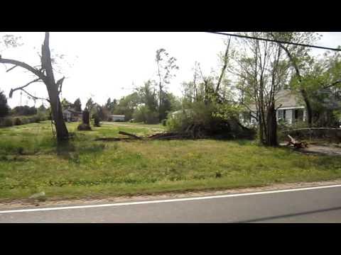 Tornado Damage James City County, VA