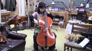 弦楽器トリオお勧め イタリア製チェロ ディエゴ・デル・ヴァレ